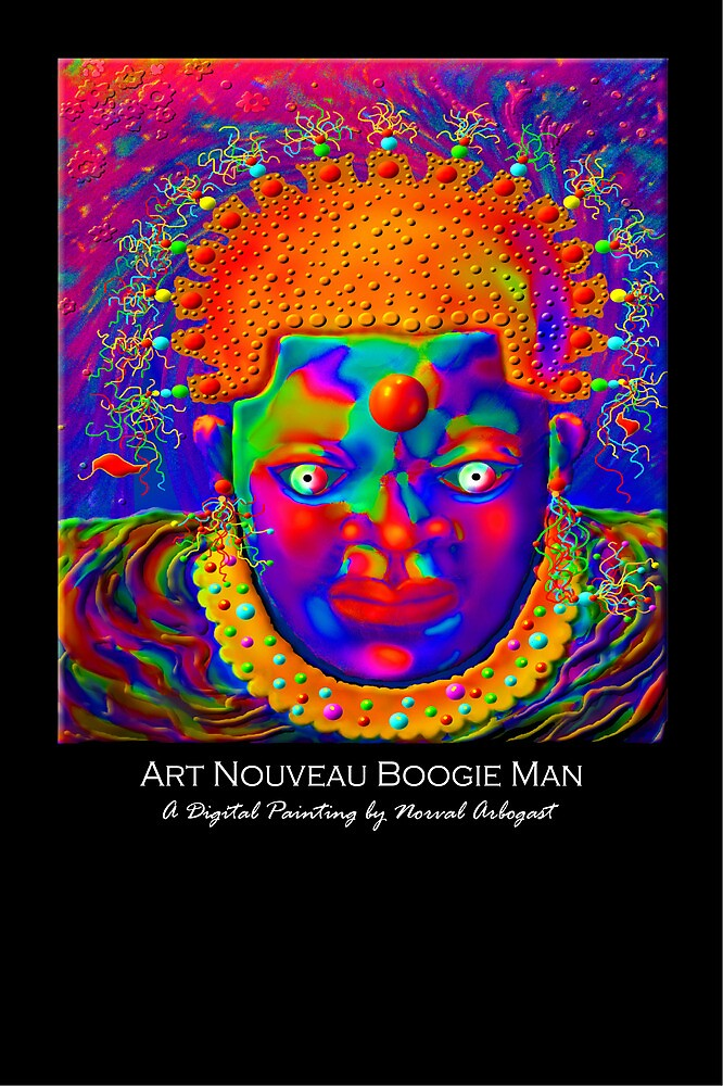 'Art Nouveau Boogie Man', by luvapples downunder/ Norval Arbogast