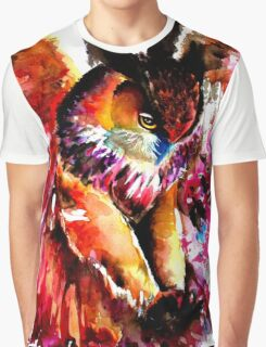 Flying Owl Graphic T-Shirt