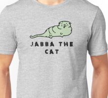 Jabba The Cat. Unisex T-Shirt