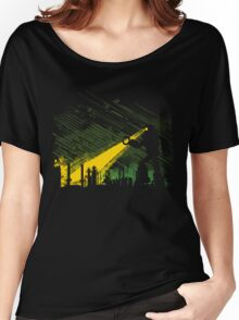 Robot Marching on the Factory Women's Relaxed Fit T-Shirt