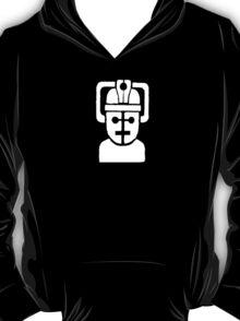 Cyberman Robot - white T-Shirt