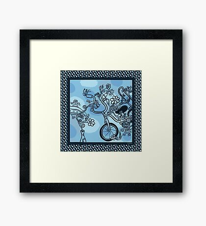 The Wild Ride! Framed Print