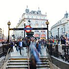 Piccadilly Circus Subway by Matthew Floyd