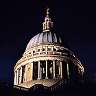 St. Paul's Cathedral at Night by Matthew Floyd