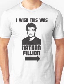 I Wish This Was Nathan Fillion Unisex T-Shirt