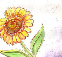 Sunflower  by Deb Coats