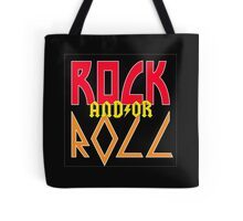 ROCK AND/OR ROLL Tote Bag