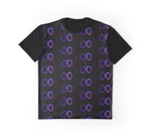 INFINITY SYMBOL BLUE NEON LIGHT Graphic T-Shirt