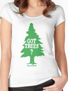 Got Trees Women's Fitted Scoop T-Shirt
