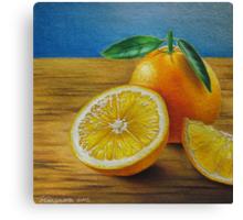 Fresh Vitamin C Canvas Print