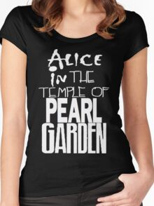 """ Alice in The Temple Of Pearl Garden"" Women's Fitted Scoop T-Shirt"
