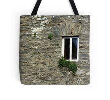 Stone Wall With Window Tote Bag