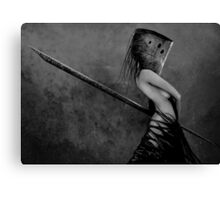 Knife in the Dark Canvas Print