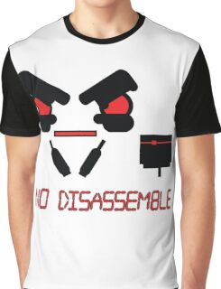 No Disassemble Graphic T-Shirt