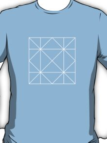 Heavy Rain Crease Pattern T-Shirt