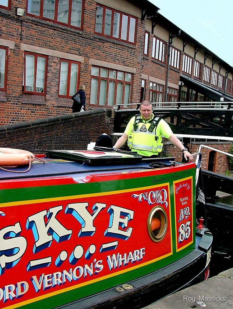 Police escort through Birmingham ! by Roy  Massicks