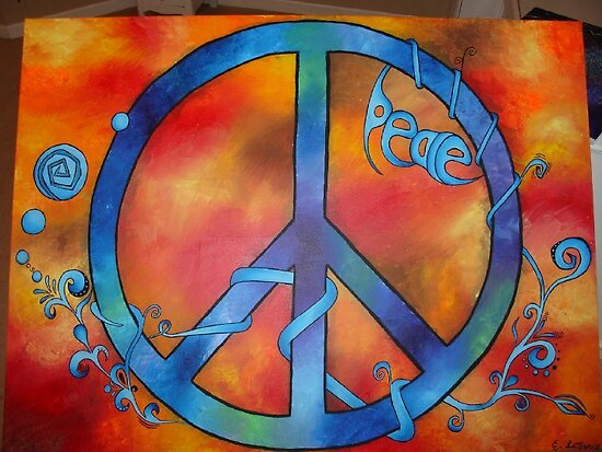 Tie Dye Peace by Emily LaForce