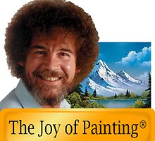 Bob Ross The joy of Painting by BombsAway