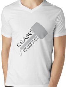 Cease! Hammer Time! Mens V-Neck T-Shirt
