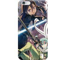 Kirito and Sinon iPhone Case/Skin