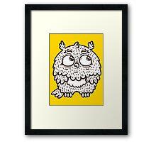 Baby owl. Framed Print