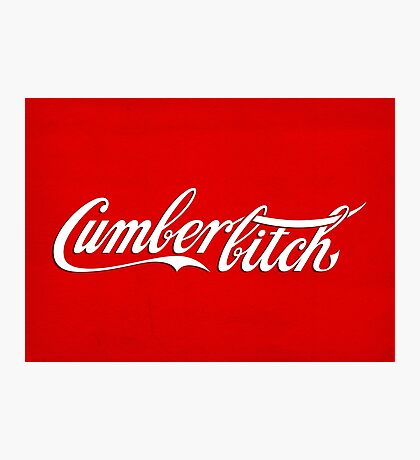 Cumberbitch Photographic Print