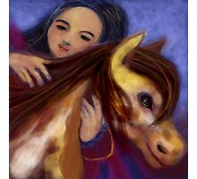 PONY GIRL Photographic Print
