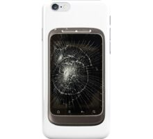 Broken Mobile Phone iPhone Case/Skin