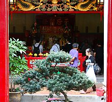 Tin Hau Temple, Stanley by Maggie Hegarty