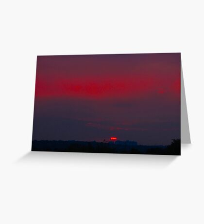 With the night sky to guide us Greeting Card