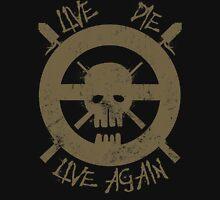 I live again (brown) Tank Top