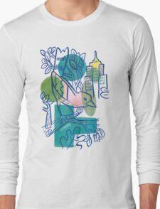 City Tweets Long Sleeve T-Shirt