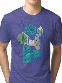 City Tweets Tri-blend T-Shirt