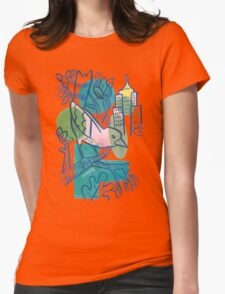 City Tweets Womens Fitted T-Shirt