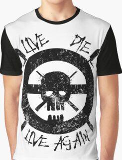 I live again (black) Graphic T-Shirt