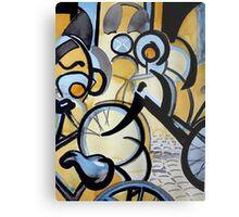 Cycles in Amsterdam I Metal Print