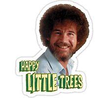 Bob Ross Happy little Trees by BombsAway