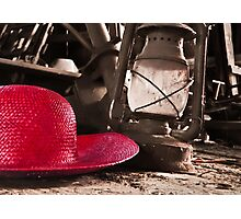 The Red Hat - Series 03 Photographic Print