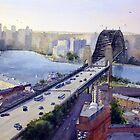 Sydney Harbour to the West by Joe Cartwright