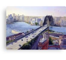 Sydney Harbour to the West Canvas Print