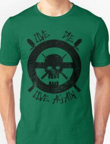 I live again (black) Unisex T-Shirt