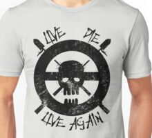 I live again (black) Unisex T-Shirt