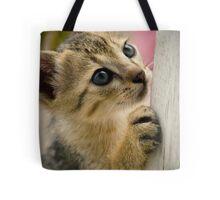 Playing Kitty Tote Bag