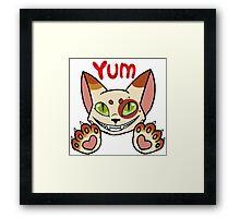 Yum! Framed Print