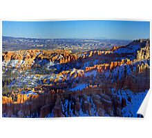 Bryce Canyon Evening Poster