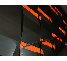 Wall inside Crown Casino - Melbourne Photographic Print