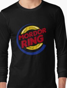 Mordor Ring  Long Sleeve T-Shirt