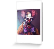 KLOWNTIME Greeting Card