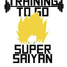 TRAINING TO GO SUPER SAIYAN by dragonballsuper