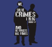 We Solve Crimes by Kales